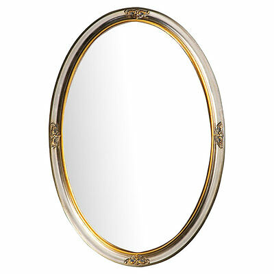 Oval Metal Wall Mirror Astoria Grand FREE SHIPPING (BRAND NEW)