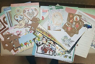 Bird-Themed Toppers, Papers & Cardstock - Clearout - for Card Making / Crafts