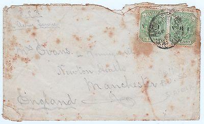 WWI Cover from South Africa to Manchester