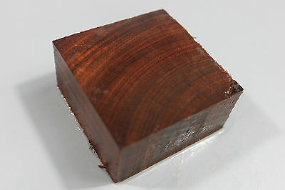 """Bloodwood/rosewood handles/small DIY turning project blank 2.4""""×2.4""""×1.2"""" #2059"""