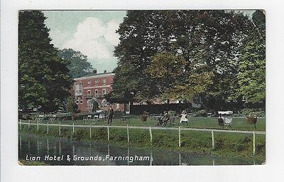 Lion Hotel and Grounds, Farningham