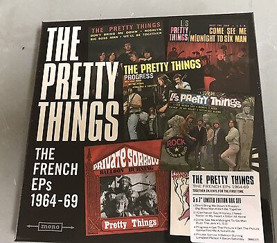 The Pretty Things (RSD 2017) The French EP's Box Set 1964-69