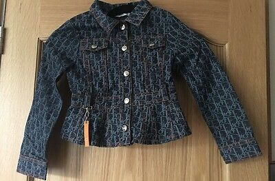 Girls Christian Dior Jacket Age 6