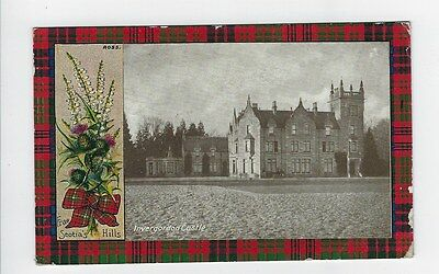 Invergordon Castle - Tartan edged