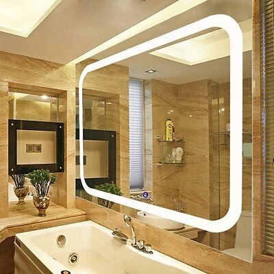 LED Lighted Vanity Wall Mirror Fab Glass and Mirror FREE SHIPPING (BRAND NEW)