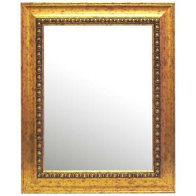 Beveled Glass Gold Framed Wall Mirror Alpine Art and Mirror FREE SHIPPING