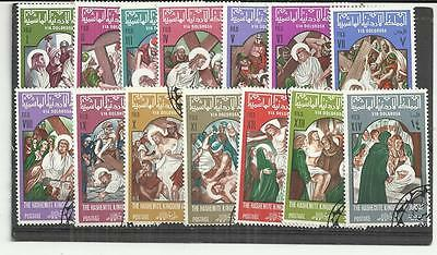 Jordan 1966 Christ's Passion The Stations of the Cross Set CTO