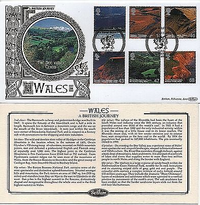 "GB Stamps 2004 ""Wales, A British Journey"" Benham First Day Cover"