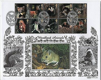 "GB Stamps 2004 ""Woodland Animals"" LARGE FORMAT Benham First Day Cover"
