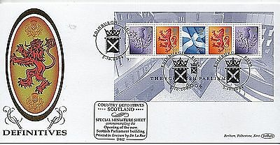 "GB Stamps 2004 ""Scottish Parliament"" Limited Edition Benham First Day Cover"