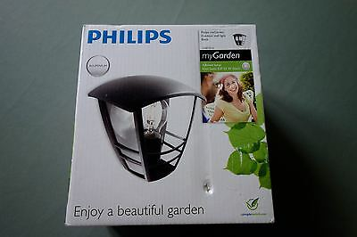 Philips Outdoor Wall Light - Black New in Box