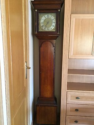 Antique Longcase Grandfather Clock signed by Joseph Lester of Sturminster