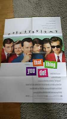 THAT THING YOU DO--USA--Filmposter A1--TOP ZUSTAND