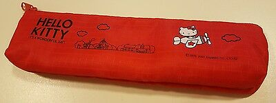 Hello Kitty Pencil Case Red
