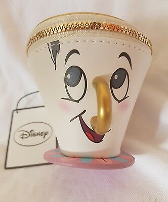 Primark DisneyTea Mug Cup Chip Purse -  Beauty And The Beast Disney - NWT
