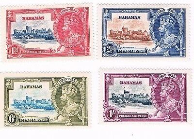 Bahamas 1935 Silver Jubilee mounted mint set