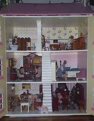 Dolls house with amazing furniture - See the photos!!!!!