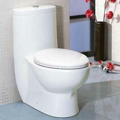 Tall Dual Flush Elongated One-Piece Toilet EAGO FREE SHIPPING (BRAND NEW)
