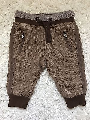 NEW NEXT BABY BOY TROUSERS 3-6 Mths