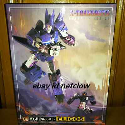 Transformers X-Transbots MX-III Eligos Cyclonus in Stock