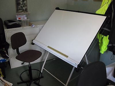Orchard Architects A0 drawing board with foldable stand.