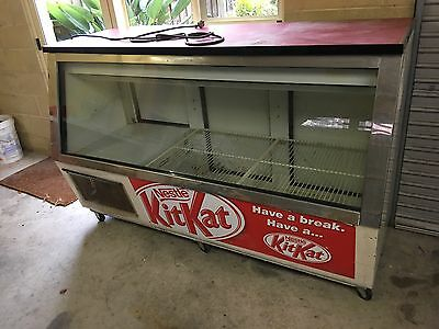 Vintage Retro Bar Fridge Milkbar Butcher Great for Man Cave