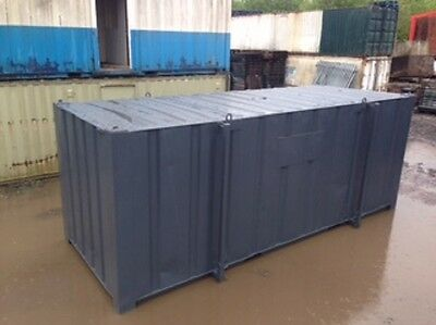 21ft x 9ft Anti vandal Storage Container SECURE WATERPROOF CONTAINER