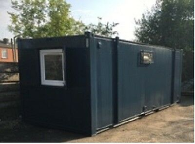 21ft by 8ft Anti Vandal sleeper pod Container clean beds welfare units