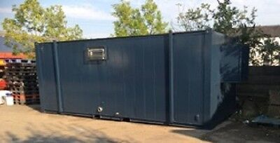 21ft by 8ft A/V Clean Sleeper Pod Welfare Unit - BURY!! Now Reduced!