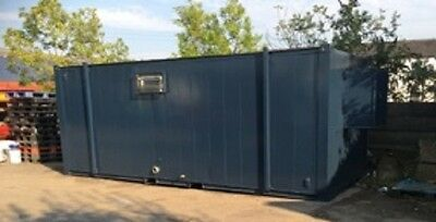 21ft by 8ft Anti Vandal container sleeper pod Container clean beds welfare units