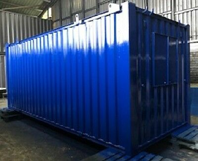 21ft x 8ft Anti Vandal Office & Canteen Container SECURE WATERPROOF
