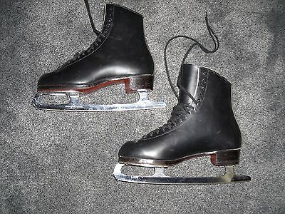 Riedell 375  Gold Star Mens' Figure Skates Size 11 Wide