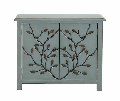 Patterned Wood Cabinet Woodland Imports FREE SHIPPING (BRAND NEW)