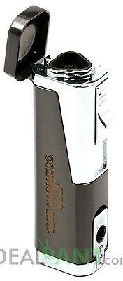 Club Macanudo Golf Triple Flame Adjustable Refillable Cigar Torch Lighter