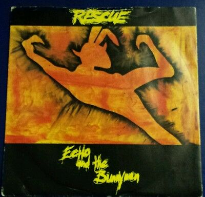 """Echo And The Bunnymen - Rescue 7"""" Vinyl"""
