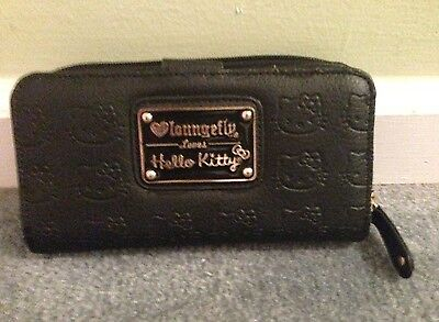 Loungefly Loves Hello Kitty Wallet (Black) by SANRIO