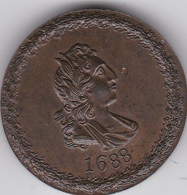 Revolution penny token (Conder) (thought to be a Very rare coin)