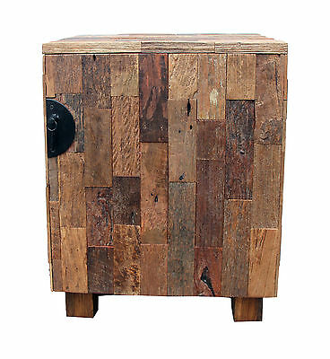 Natural Wood Patch Cabinet Asian Art Imports FREE SHIPPING (BRAND NEW)
