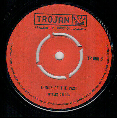 Phyllis Dillon - Things Of The Past - Trojan
