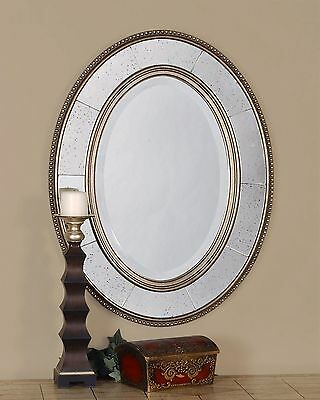 Oval Wood Beveled Mirror Mercer41 FREE SHIPPING (BRAND NEW)