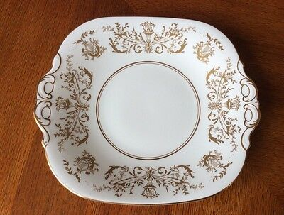 "Coalport Bone China ""Allegro"" Pattern Cake/Bread and Butter Plate"