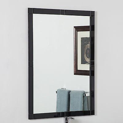 Frameless Beveled Kinana Wall Mirror Decor Wonderland FREE SHIPPING (BRAND NEW)