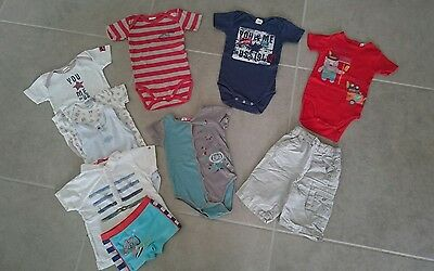 Lot Bodies 18 mois DPAM Absorba +kdo