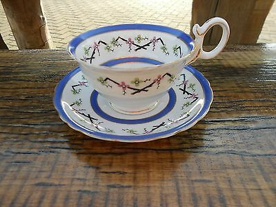 "Vintage Bishop & Stonier China ""Bisto"" Cabinet Cup and Saucer"