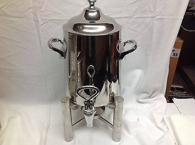Stainless steel hot or cold beverage dispenser