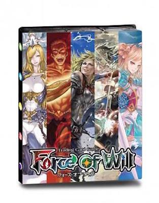 Ultra Pro Force of Will TCG Pro Binder- Holds 180 Cards - Brand New