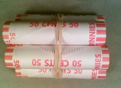 Original BU Bank Wrapped Roll of 2009-D Lincoln Presidency Cents