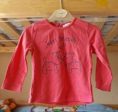girls long sleeved top age 6-9
