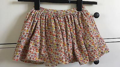 M&S Gorgeous Girls Lined Floral Skirt 3-4 Years