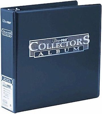 Ultra Pro Collectors Ring Binder Album - For A4 Pocket Pages - BLUE - BRAND NEW